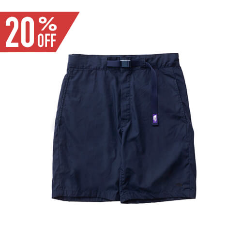 THE NORTH FACE PURPLE LABEL ノースフェイス パープルレーベル 65/35 Washed Field Shorts With Belt