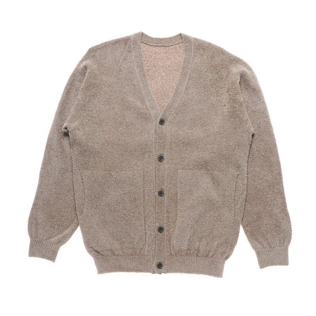 crepuscule クレプスキュール Cotton mole cardigan - 2003-006
