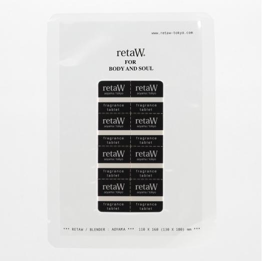 [retaW] リトゥ scent tablets