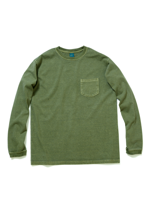 Good On L/S POCKET CREW TEE GOLT1306P