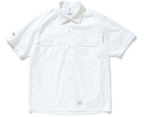 WTAPS ダブルタップス 2018SS DECK SS / SHIRT.COTTON.BROAD CLOTH