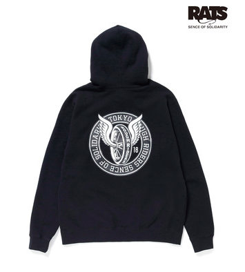 NEIGHBORHOOD × RATS ネイバーフッド × ラッツ 2018AW T.R.R/C-HOODED LS