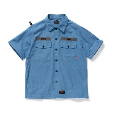WTAPS ダブルタップス 2017SS BUDS SS 01/ SHIRT.COTTON.CHAMBRAY