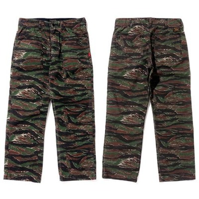 WTAPS ダブルタップス 2017SS  BUDS/TROUSERS.COTTON.TWILL.TIGER STRIPE