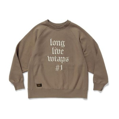 WTAPS ダブルタップス 2017AW DESIGN CREW NECK/SWEATSHIRT.COTTON