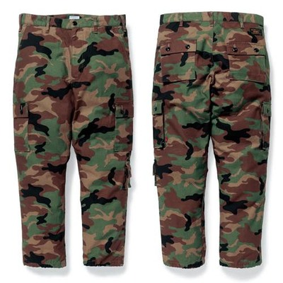 WTAPS ダブルタップス 2017AW  JUNGLE STOCK 02/TROUSERS.COTTON.SATIN.CAMO