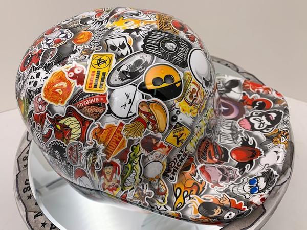sticker bomb doughboy