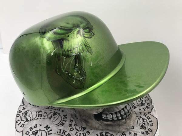 Green Skull Flatboy