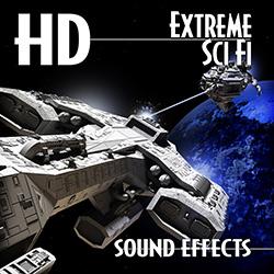著作権フリー効果音素材・エクストリーム・サイエンスフィクション効果音ライブラリ・24bit96KHz#年末セール