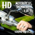 著作権フリー効果音素材モーターサイクル&スノーモービル効果音ライブラリ・24bit96KHz#