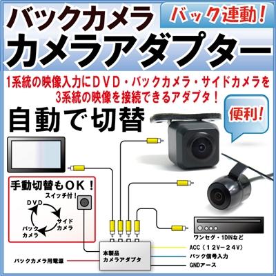 カメラセレクター 映像切替器 ファインパーツジャパンオリジナル 【保証期間1ヶ月】 5y