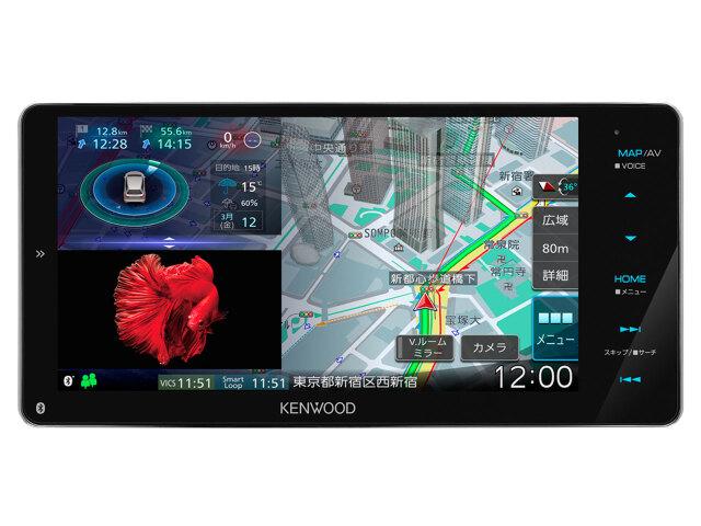[送料無料] 彩速ナビMDV-M808HDW  / 7インチナビ ケンウッド [延長保証対象商品]