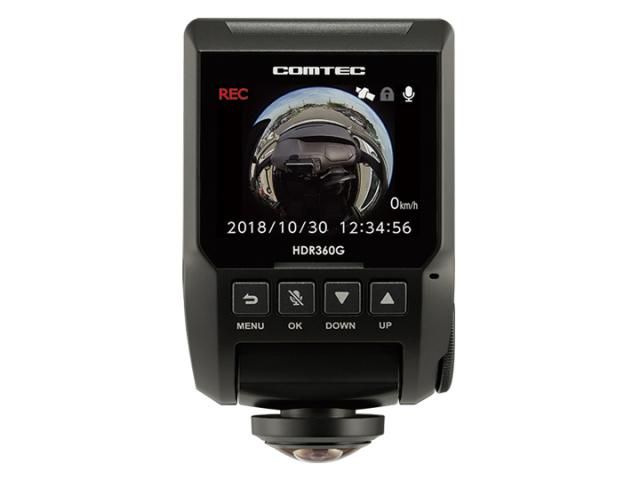 [送料無料]HDR-360G/コムテックドライブレコーダ [延長保証対象商品]