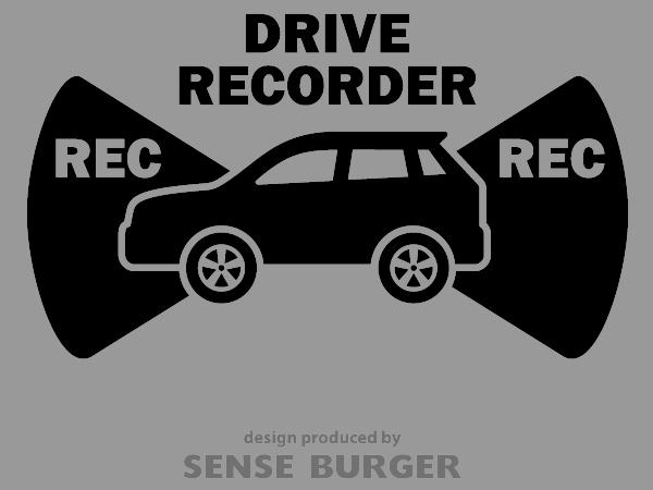 ≪ステッカー・デカール≫REC RECORDER_suv 黒 ブラック
