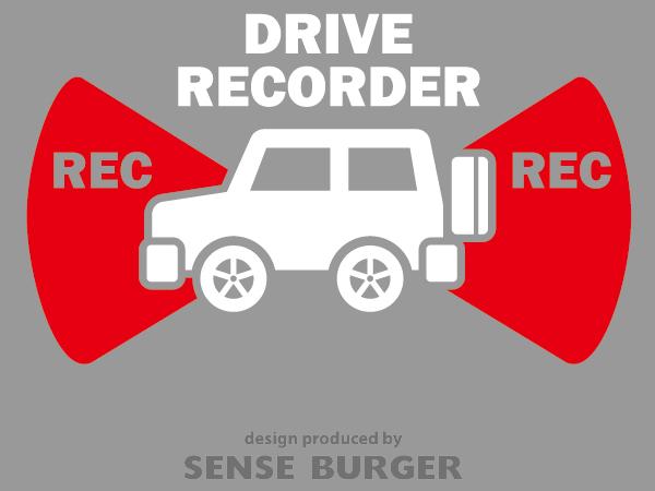 ≪ステッカー・デカール≫REC RECORDER_4wd 赤 レッド