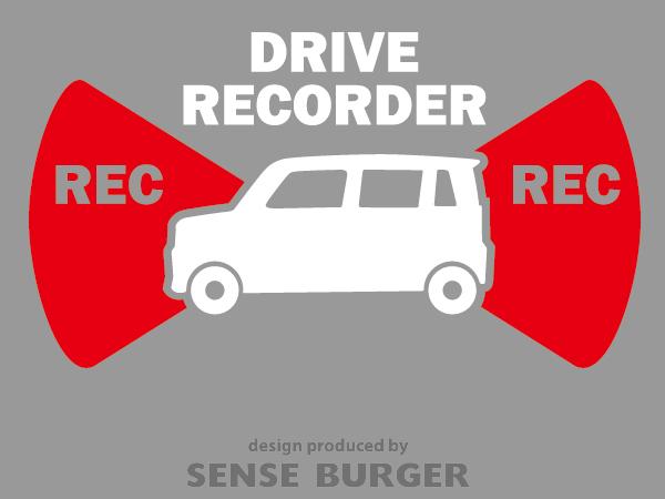 ≪ステッカー・デカール≫REC RECORDER_light 赤 レッド