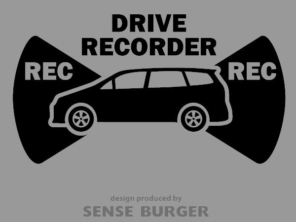 ≪ステッカー・デカール≫REC RECORDER_station 黒 ブラック