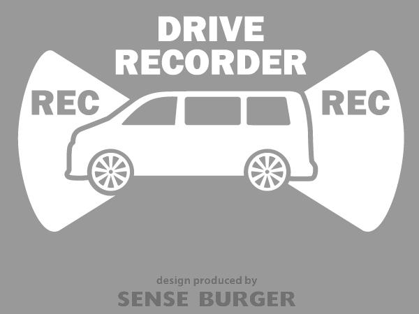≪ステッカー・デカール≫REC RECORDER_box 白 ホワイト