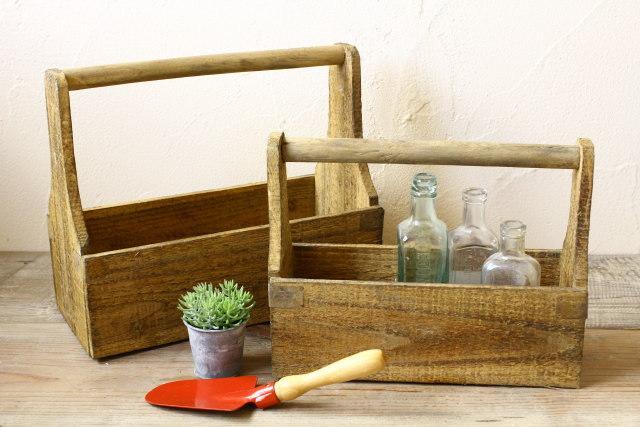 ガーデンウッドボックス2個セット