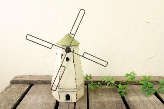 ブリキオブジェ・風車