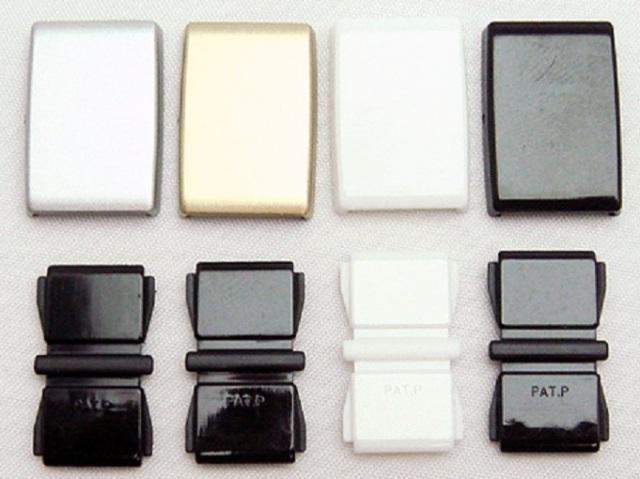 日本製 バックル10ミリ巾 接続バックル ストレッチテープ用 ゴムテープ用
