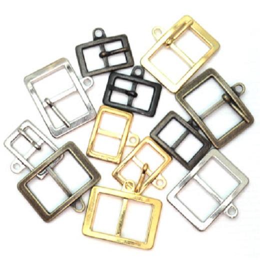 バックル美錠 チャーム美錠  H20000 10ミリ、15ミリ、サイズ。カラーは、シルバー、ゴールド、アンティーク、ブラック。ピンありとピンなしがございます。