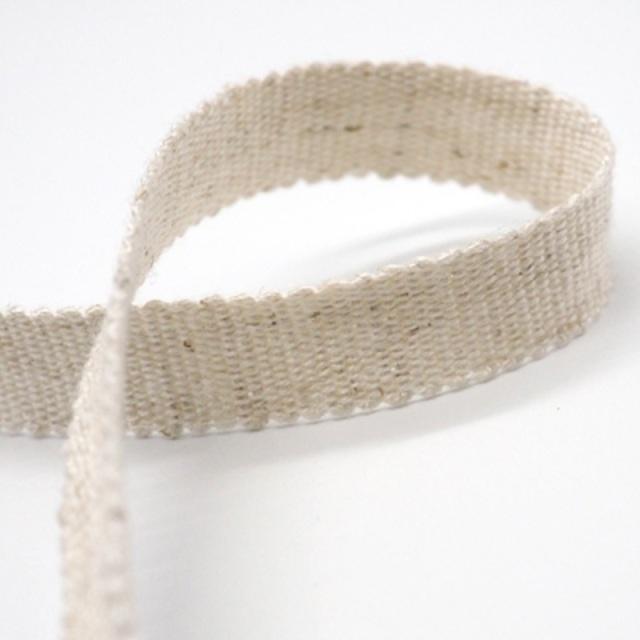 日本製 麻混ペタシャムリボン J71000 9ミリ幅、15ミリ幅、24ミリ幅があります。天然素材使用。
