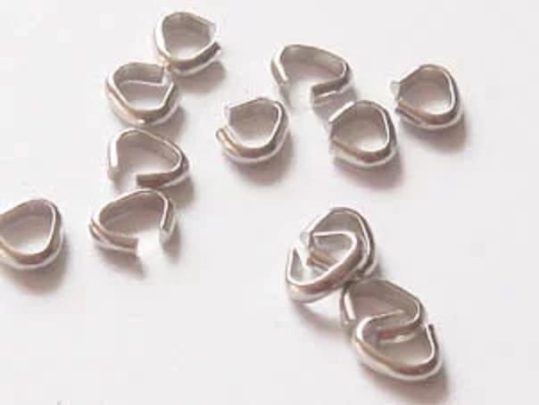 Cカン(バチカン)5mm 10個セット チャームなどの取付け用。 カラーは シルバー、ゴールド、アンティーク、ブラック、があります。