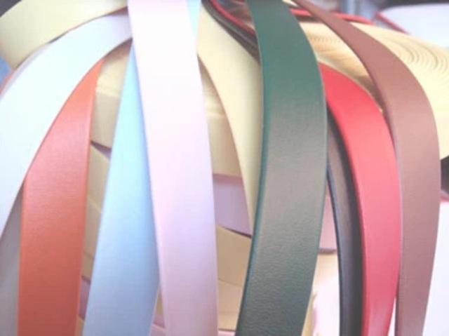 レザー スムースレザーテープ(合成皮革) SK80000 日本製。サイズは10ミリ、15ミリ、20ミリがあります。カラーは11カラーです。