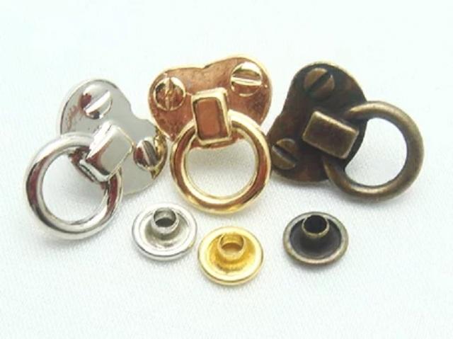 飾りカシメ エルメス金具調  横のサイズ 12ミリ U64300。シルバー、ゴールド、アンティーク、があります。