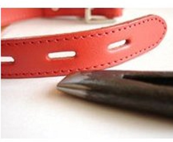 小判抜き 打ち込み用抜き型 12ミリ、15ミリ、18ミリ、21ミリ、サイズがあります。美錠のピン通し用穴、ペット美錠ペットピン用穴などの穴開け用に使用します。