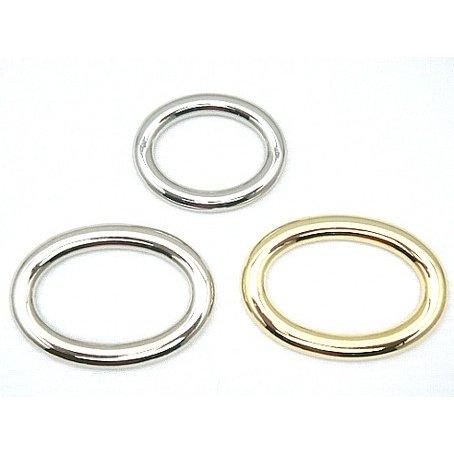 だ円 マルカン ダイキャスト合金 つなぎなしリング 日本製 26mm(内径)×19mm(内径)と、36mm(内径)×22mm(内径)の2サイズあります。 カラーはシルバー、ゴールド、となります。