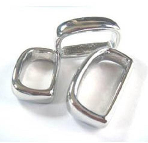 鋳物サルカン ヒモ止め D33000 20ミリ、24ミリ。カラーは、シルバー、ゴールド、となります。
