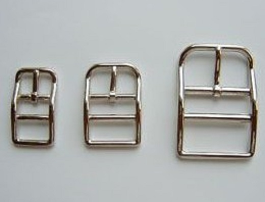 バックル 目の字美錠 H16000 15ミリ、21ミリ、30ミリ、サイズ。カラーは、シルバー、ゴールドがあります。