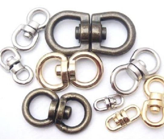 回転カン ダイキャスト合金 N159595 3ミリ、4ミリ、5ミリ、6ミリ、8ミリ、9ミリ、12ミリ、15ミリ、18ミリ。カラーは、シルバー、ゴールド、アンティーク、となります。