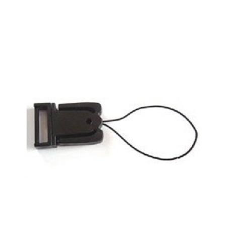 プラスチック ストラップパーツ キーホルダーパーツ 15ミリサイズ カラーはクロがあります。