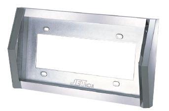 とんがりナンバープレート枠Ver.2大型用48mm角ABS