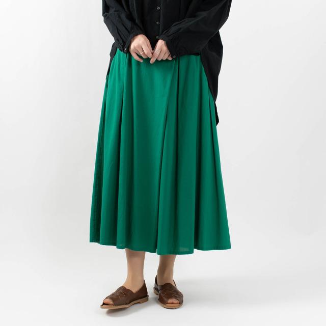 blue willow ラップフレアスカート