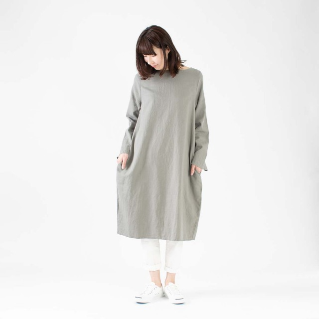 CUORE STORE 後ろタックワンピース