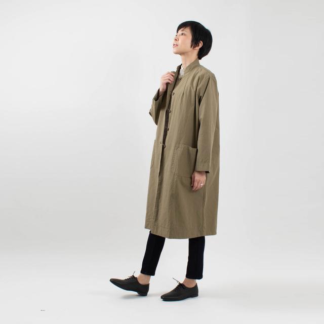 SO スタンド衿コート