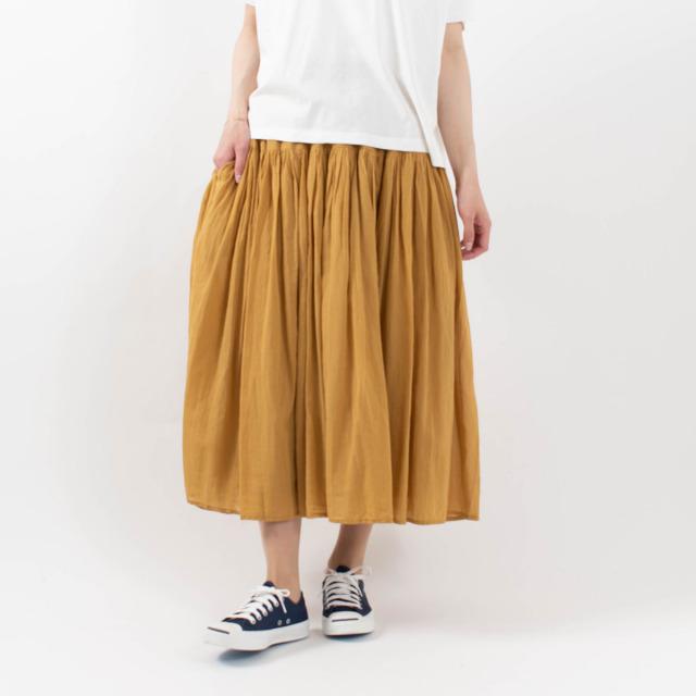 SO ヨークギャザースカート