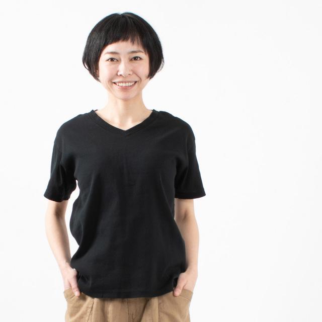 BIWACOTTON VネックTシャツ