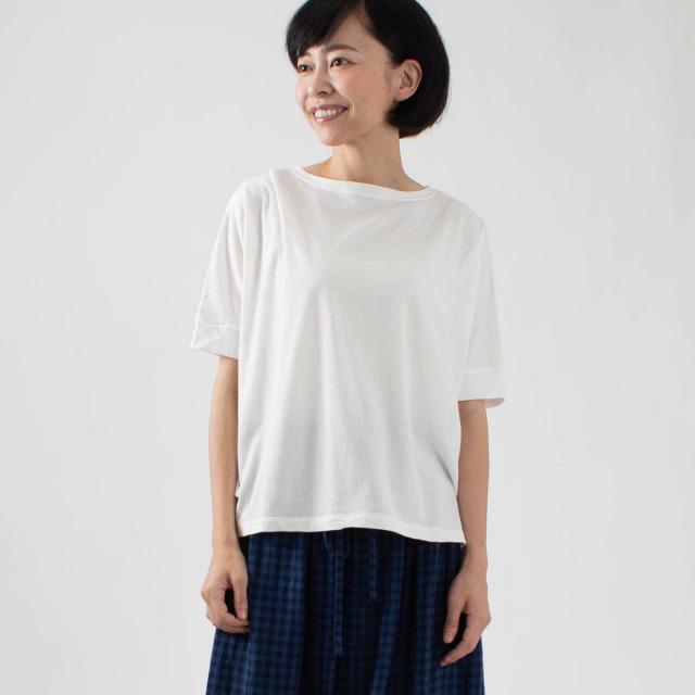 FIRST スリットワイドTシャツ