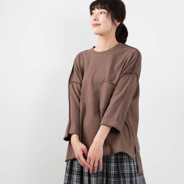 FIRST ポケットワイドTシャツ