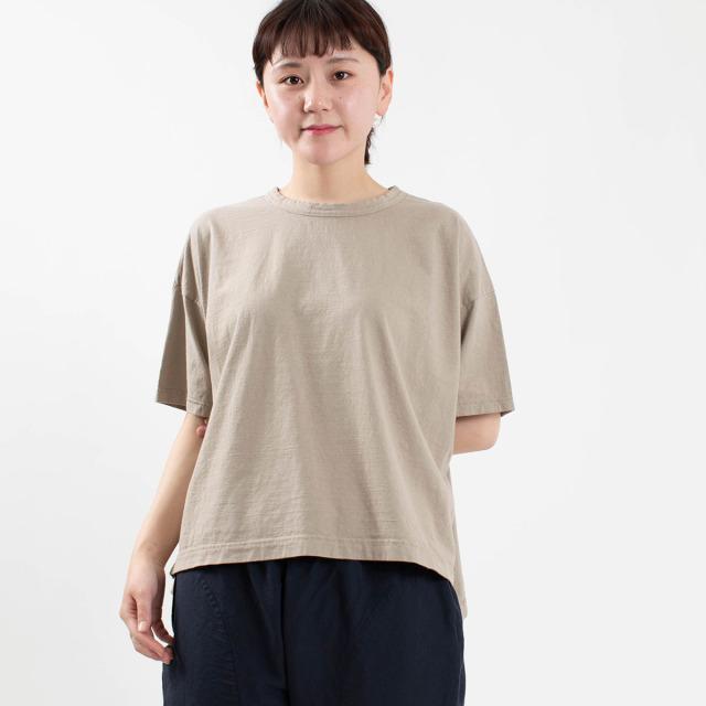 prit 5分袖ワイドTシャツ