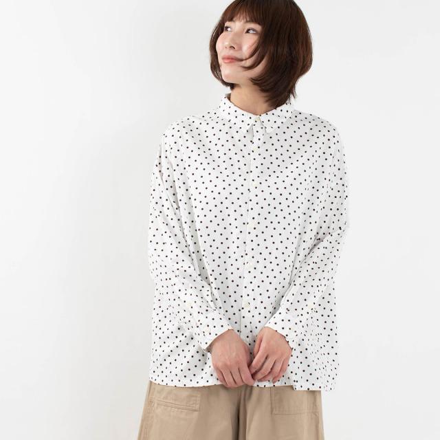 ichi ランダムドットシャツ