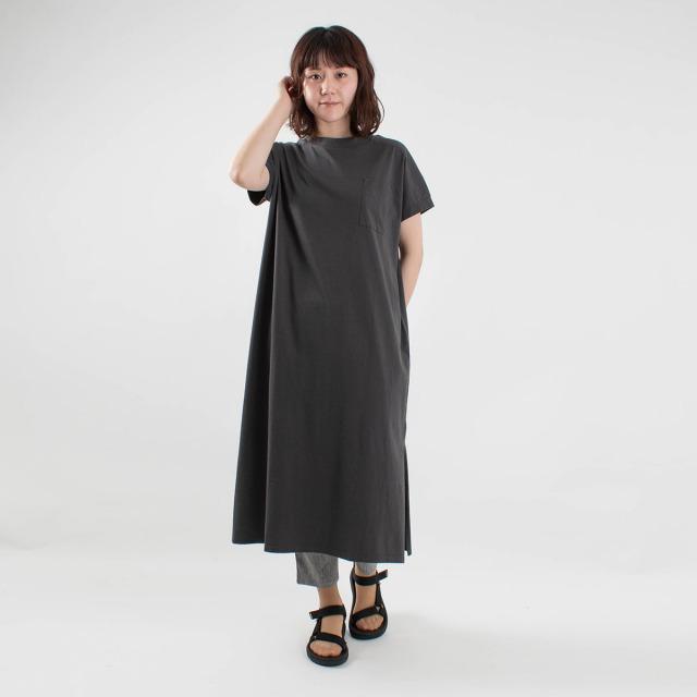 ichi ポケット付きワンピース