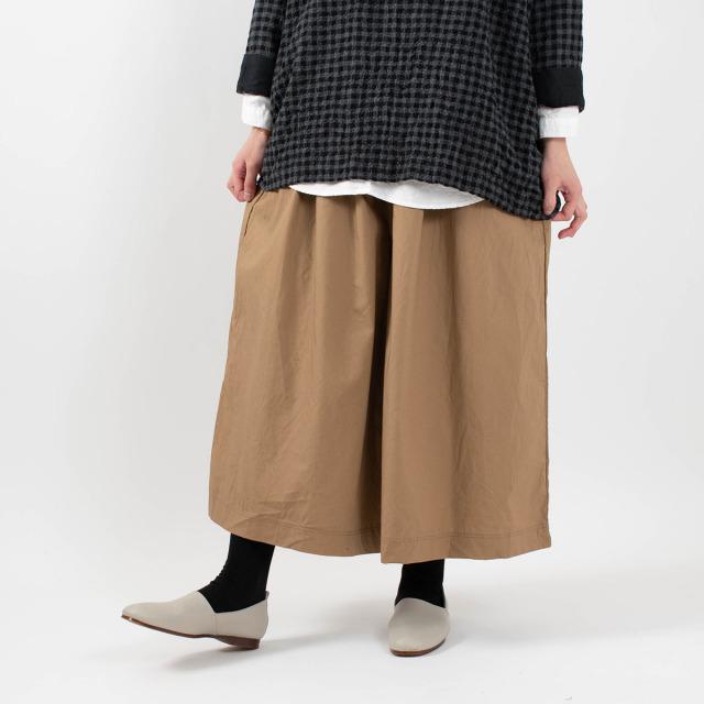 ichi 馬布ワイドパンツ