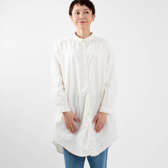 SUN VALLEY オックスチュニックシャツ