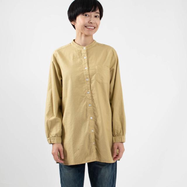 SUN VALLEY オックスバンドカラーシャツ